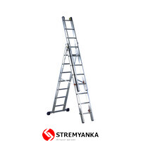 Трехсекционная лестница Svelt Luxe3 3х9