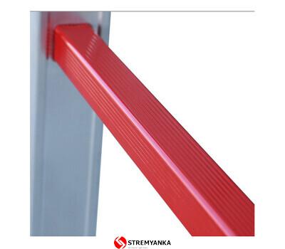 Фото - Трехсекционная алюминиевая лестница VIRASTAR Triomax Pro 3x15 ступеней