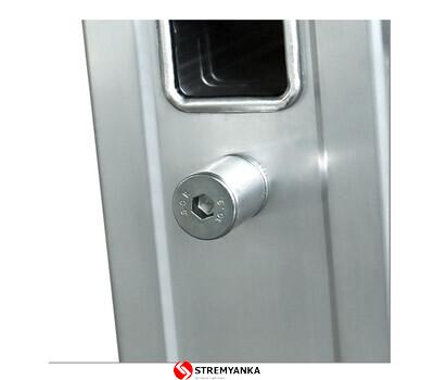 Фото - Трехсекционная алюминиевая лестница VIRASTAR Triomax Pro 3x10 ступеней